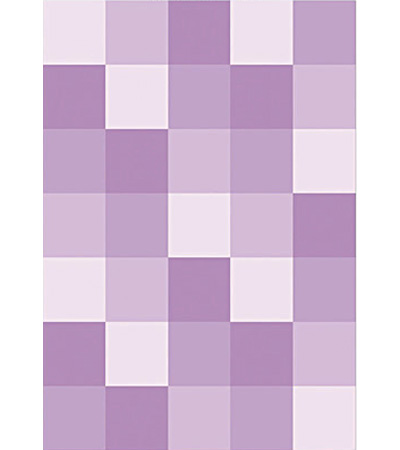 紫色婚礼地毯矢量图